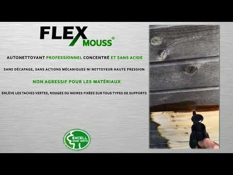 AUTONETTOYAGE BARDAGE BOIS Flex MOUSS
