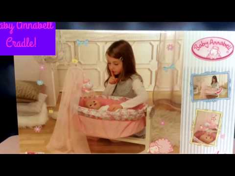 Baby Doll Annebell &a Baby Annebell Cradle | Bed time routine