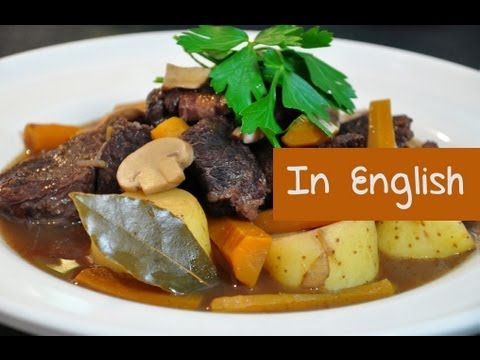 Burgundy Beef Stew Recipe – How to Make French Boeuf Bourguignon