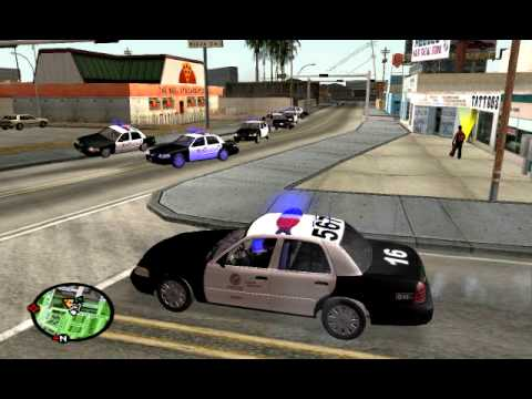 What Would Happen If I Played GTA Like Real LAPD? – GTA SA