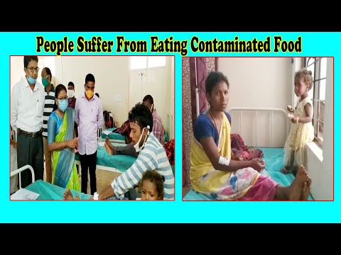 70 People Suffer From Eating Contaminated Food Tribal Agency || G.Madugula Visakhapatnam || Vizag Vision
