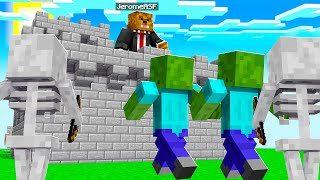 Defending The Castle Against Hordes Of Wither Skeletons