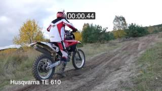 1. Time Laps Moto   Husqvarna TE 610