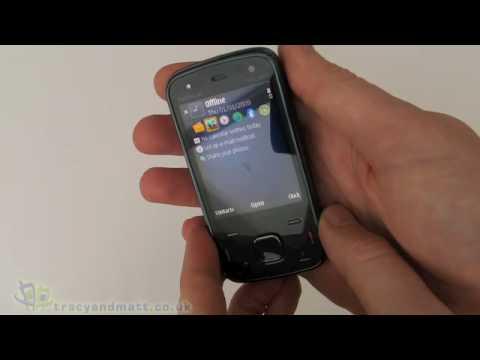 Nokia N86 unboxing video
