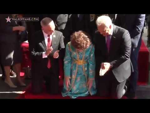 Gina Lollobrigida Walk of Fame Ceremony