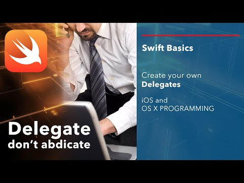 iOS Swift Basics Tutorial: Protocols and Delegates