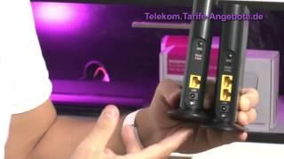 In diesem Video zeigen wir die Inbetriebnahme der Telekom Speedport W102 Bridge Duo - damit können Sie den Media Receiver kabellos mit dem Speedport Router verbinden.Telekom Tarife und Angebote: https://telekom.tarife-angebote.de .