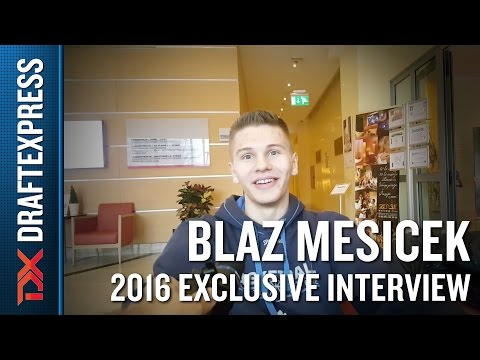 Blaz Mesicek Exclusive Interview with DraftExpress