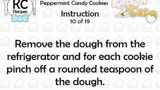 KC Peppermint Candy Cookies YouTube video