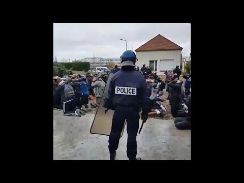 Frankreich: Überall demonstrieren die Schüler, es kam zu Ausschreitungen mit der Polizei