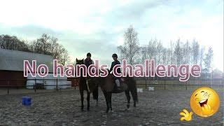 Video No hands challenge - på hästryggen MP3, 3GP, MP4, WEBM, AVI, FLV Agustus 2018