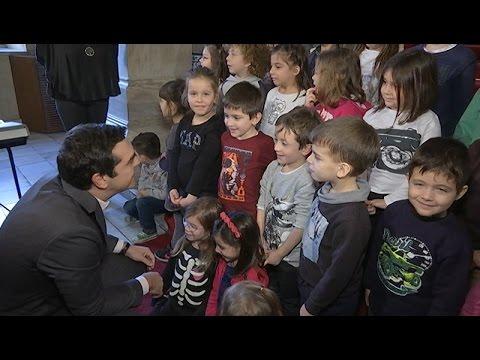 Σε εκδήλωση για τα ασυνόδευτα παιδιά στη Βουλή ο  Αλέξης Τσίπρας