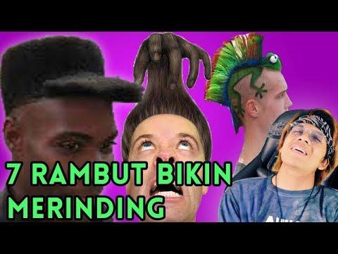 MERINDING! 7 Rambut NIAT TINGKAT DEWA!!