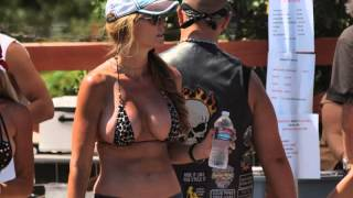 Hulett (WY) United States  city pictures gallery : Biker Babes at Hulett, WY during the Sturgis Rally