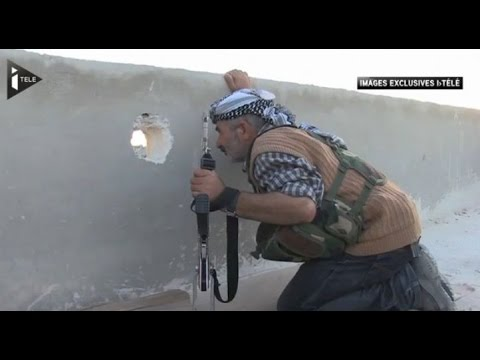 Syrie : A l'intérieur de Kobane, ville martyre