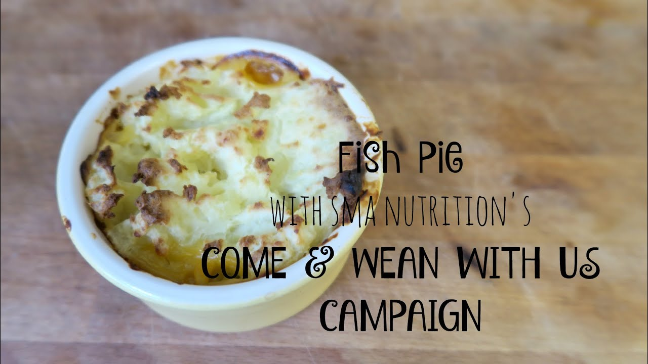 Fish Pie SMA Nutrition Come & Wean with Us