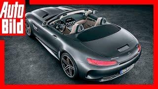 Trailer Mercedes AMG GT C Roadster - Erste Details/Stoffdach-Sportler mit Stern by Auto Bild