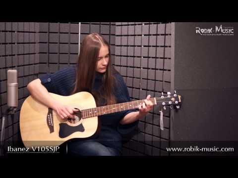 Đàn Guitar Acoustic IBANEZ V105SJP-NT