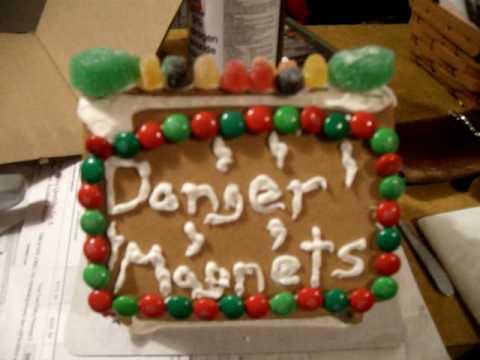 THE DANGER MAGNET ANNUAL GINGER BREAD HOUSE