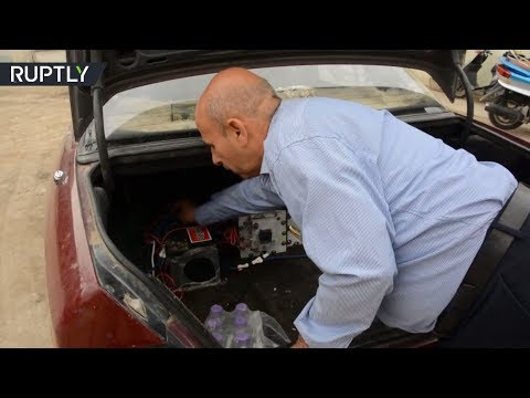 العرب اليوم - شاهد: تعرّف على سيارة عراقية تعمل بالماء بدل الوقود