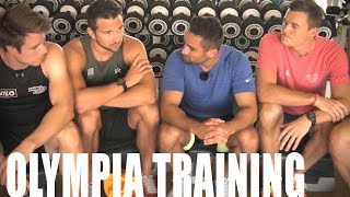In Ägypten habe ich mal eine Trainingseinheit mit den Ruder-Riesen absolviert. Wie sieht ihr tägliches Training aus?