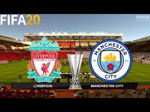 Liverpool vs Manchester City - UEL UEFA Europa League - Full Gameplay   FIFA 20