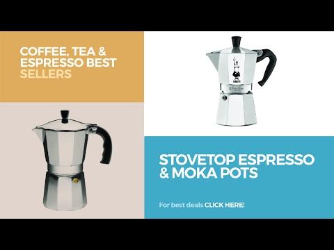 Stovetop Espresso & Moka Pots // Coffee, Tea & Espresso Best Sellers