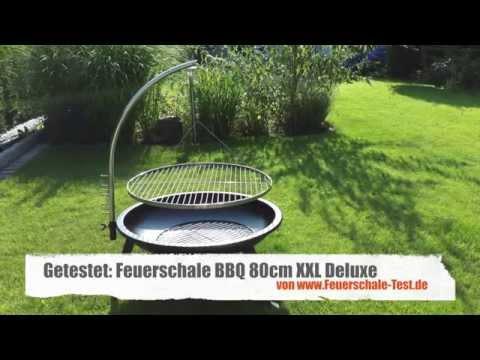 Test BBQ XXL Deluxe Grill Feuerschale [+HD]