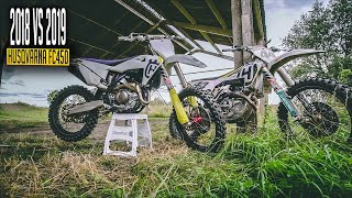 8. 2018 Vs 2019 Husqvarna FC450 - Is it really that much better ???