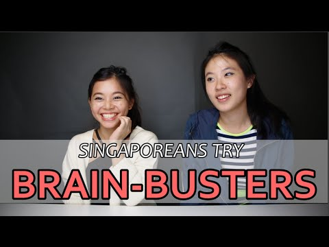 Singaporeans Try: Brain-Busters | EP 3