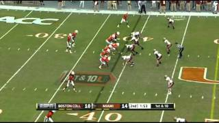Lamar Miller vs Boston College (2011)