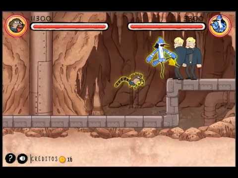 juego pelea de puños de cartoon network español