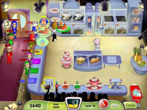 Cooking Dash Level 41 & 42