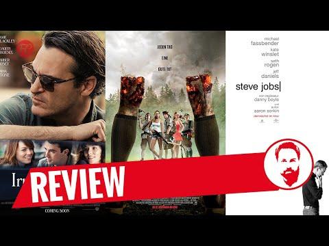 Steve Jobs (2015), Irrational Man (2015), Scouts Vs. Zombies   FRISCHE FILME   FredCarpet