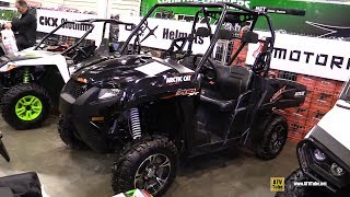 7. 2017 Arctic Cat HDX 700 XT Utility ATV - Walkaround - 2017 Toronto Snowmobile ATV Show