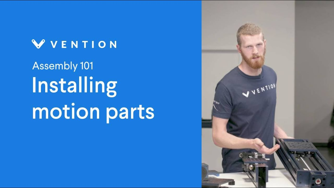 Installing Motion Parts