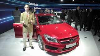 2014 Mercedes-Benz CLA - 2013 Detroit Auto Show 104140 YouTubeMix