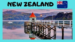 Akaroa New Zealand  City new picture : NEW ZEALAND, a tour of spectacular and historic AKAROA (South Island)