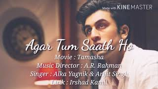 Download Video Agar Tum Saath Ho - Lirik dan Terjemahan Indonesia MP3 3GP MP4
