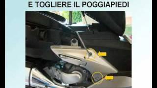 3. Honda Silver Wing 400 /600 - Pulizia/Sostituzione Filtro Aria