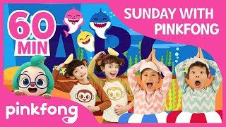 Baby Shark Dance and more | Sunday with Pinkfong | +Compilation | Pinkfong Songs for Children