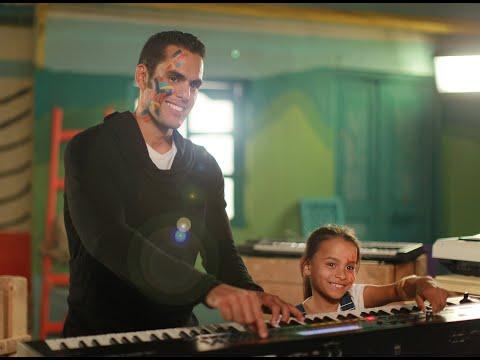 """شاهد- ماجدة زكي وآسر ياسين وزيدان مع نجوم الفن في أغنية """"شوف بقلبك"""""""