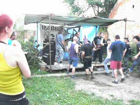 Rabies (Vzteklina) - Live Týn nad Vltavou 16.6. 2012