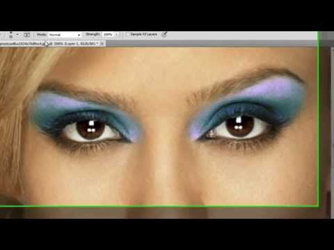 Photoshop CS5 – Digital Make Up – Tutorial