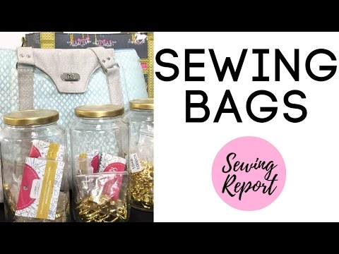 Sewing Bags, Purses, Handbags - Patterns & Hardware Sources | EASTER LIVE SHOW | SEWING REPORT