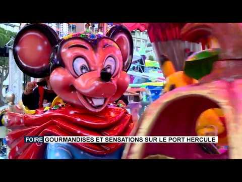Tasty food and thrills on Port Hercule