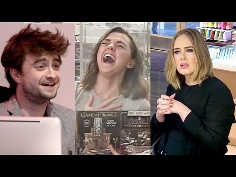 Top 9 Best Celebrity Hidden Camera Pranks! (видео)
