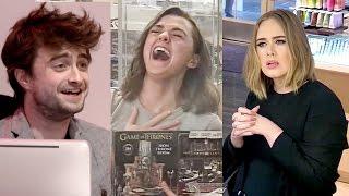 Video Top 9 Best Celebrity Hidden Camera Pranks! | Hollywire MP3, 3GP, MP4, WEBM, AVI, FLV Agustus 2018