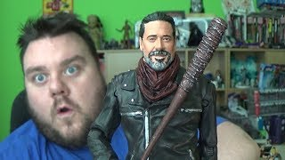 """AMC's The Walking Dead Negan Walmart Exclusive McFarlane Toys Action Figure Review - Hey guys its me SUPERSORRELL and today we are reviewing the BLOODY NEGAN a WALMART exclusive action figure by McFarlane Toys. Leader of the group known as The Saviors, Negan is one of the most merciless enemies to ever cross paths with Rick Grimes and the other survivors. With no remorse, Negan executes those who get in his way with his weapon of choice, Lucille. With the barrel end wrapped in barbed wire, Lucille is the iconic baseball bat that Negan wields to not only intimidate others, but eliminate them as well. Figure comes with scaled """"Lucille"""" barbed-wire baseball bat Spectacular likeness for Negan sculpted from images of actor Jeffery Dean Morgan Sculpted in his iconic outfit from Season 7 of AMC's The Walking Dead™ with blood splattered paint decoration 7-inch figure complete with stylized brand specific display base Redesigned with 14+ points of articulation for dynamic posingPlease Subscribe and Support the channel!! https://www.youtube.com/channel/UC23U4jpP2BAw8uxaH4Zwh8g?sub_confirmation=1 Fan Mail *********SUPER SORRELL, PO Box 267, Pontefract, WF8 8DHMy Links*********Business Enquiries: Supersorrell@live.co.ukInstagram: https://www.instagram.com/supersorrellTwitter: https://twitter.com/supersorrellFacebook Page: https://www.facebook.com/supersorrell Website: http://www.supersorrell.co.ukAbout Me********Hey guys its me your host SUPERSORRELL and this is my channel, I am an action figure toy collector and enthusiast. I am an out of box collector and my channel tagline is """"i unbox it, so you dont have to"""" I like to collect action figures from my favourite franchises including STAR WARS, DC COMICS & MARVEL but from time to time expect some awesome throwbacks to my child hood favourite movies from the 70s-90s including NECA products like Alien Predator, Last Action Hero, Terminator, Rocky, Planet Of The Apes, Transformers, Teenage Mutant Ninja Turtles, Ghostbusters, Friday"""