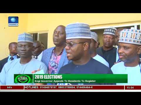 2019 Elections: Please Register, Governor Bello Appeals To Kogi Residents